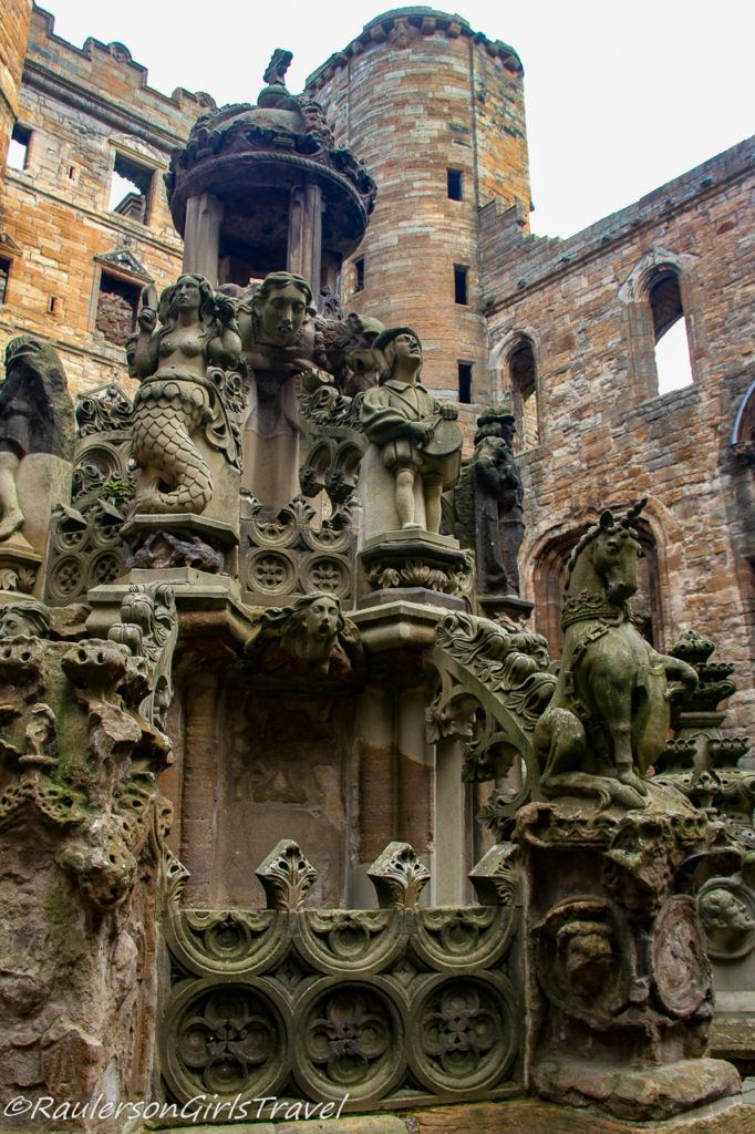 King's Fountain in Linlithgow Palace
