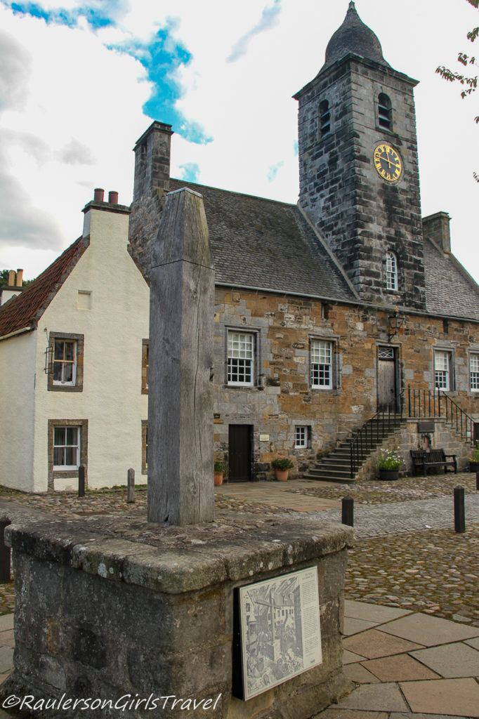 The Tron in front of the Culross Town House