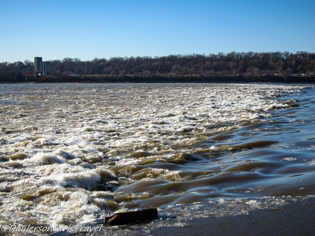 Rocky Rapids of the Mississippi River