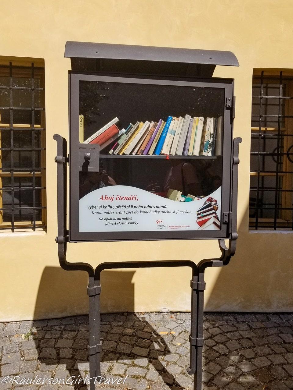 Little Free Library Pardubice, Czech Republic