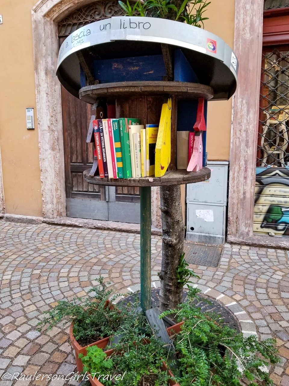 Little Free Library Trento, Italy