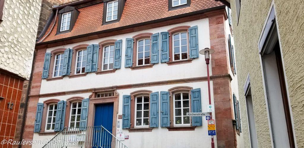 German building in Landstuhl