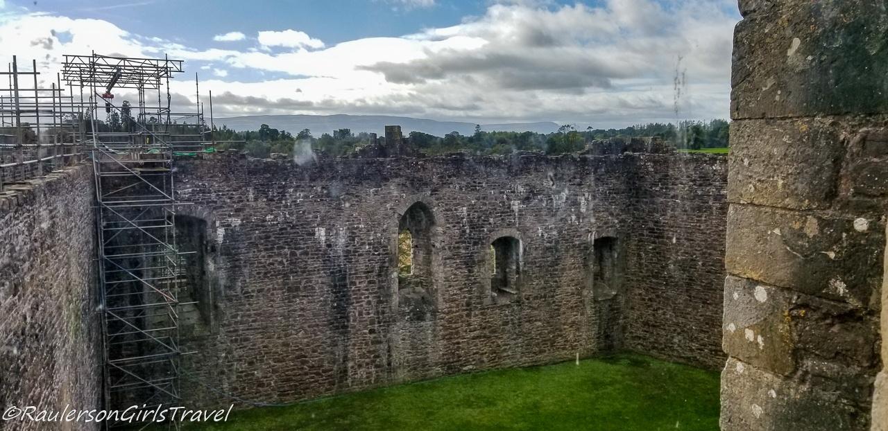 Inside Courtyard of Doune Castle