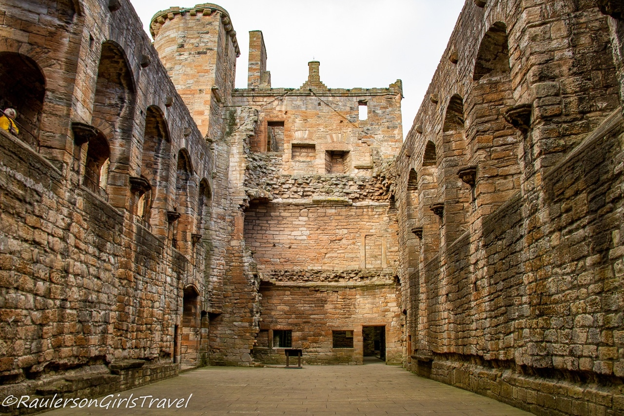 The Great Hall in Linlithgow Palace