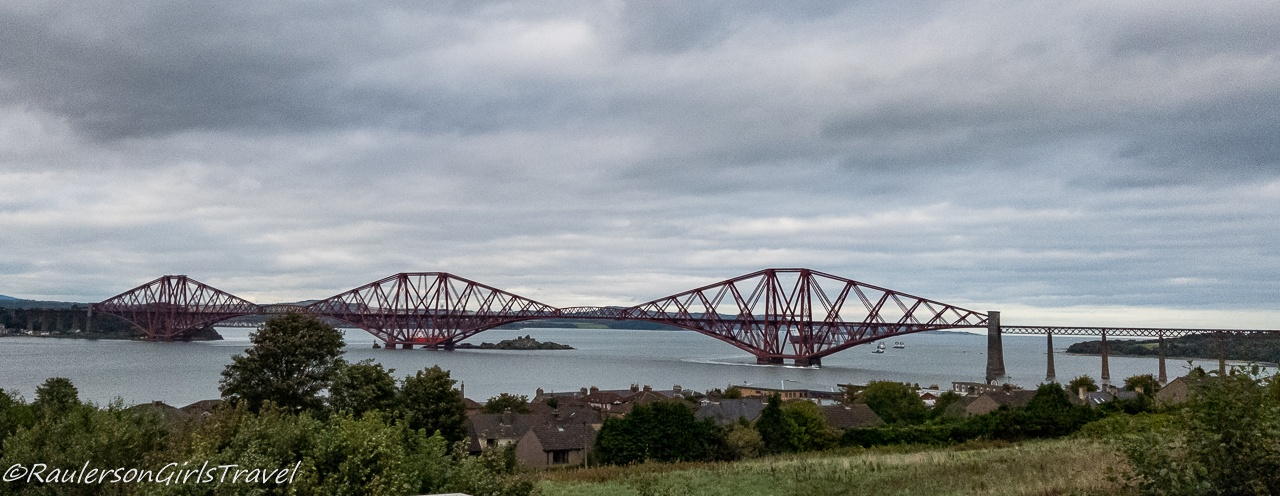 The Forth Bridge in Edinburgh