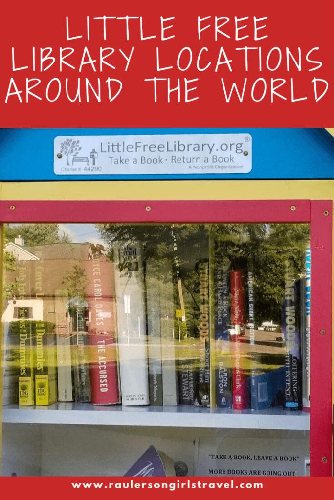 Little Free Library Pinterest Pin
