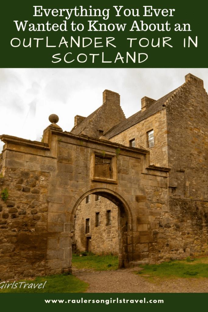 Outlander Tour Scotland Pinterest Pin