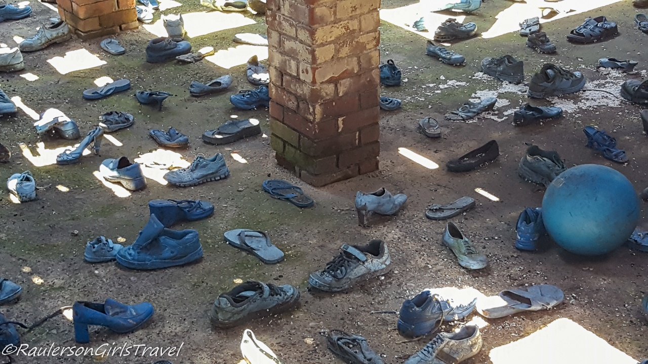 Blue Shoes at the Heidelberg Project