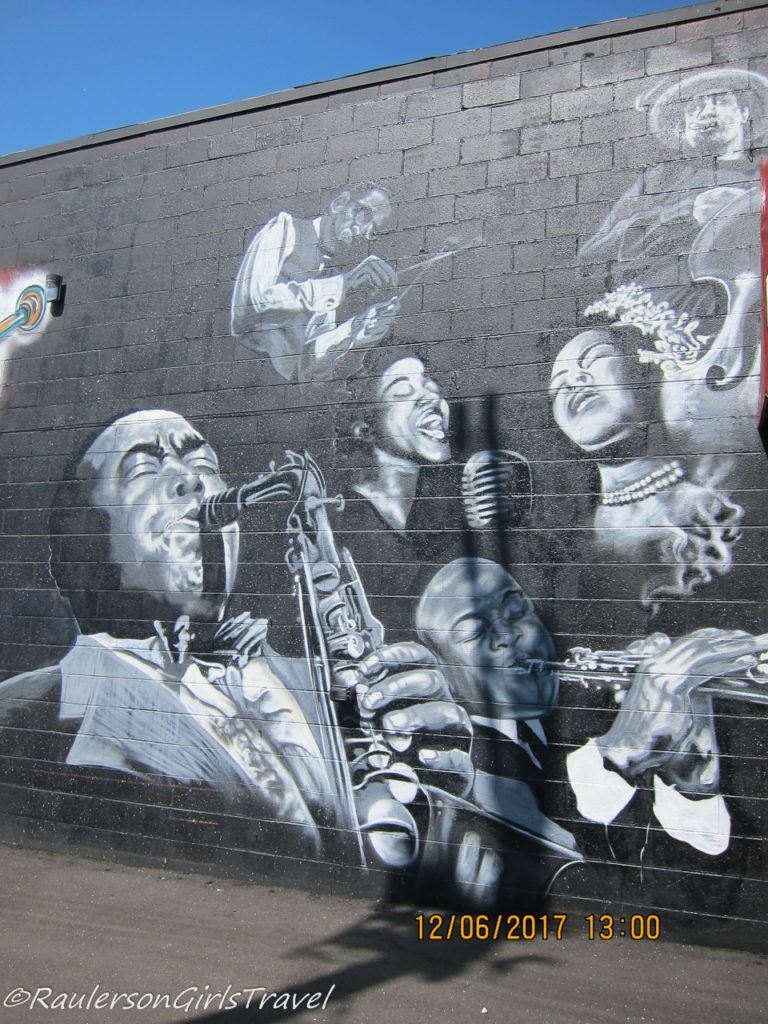 Detroit Street Art - Bert's Warehouse Jazz Musicians and Singers