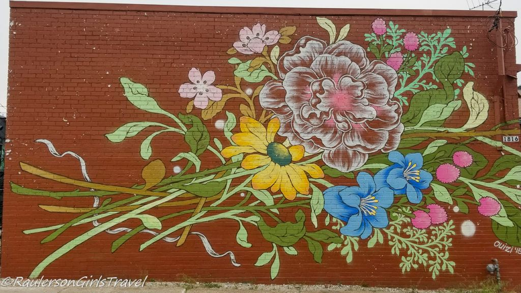 Detroit Street Art - Flowers