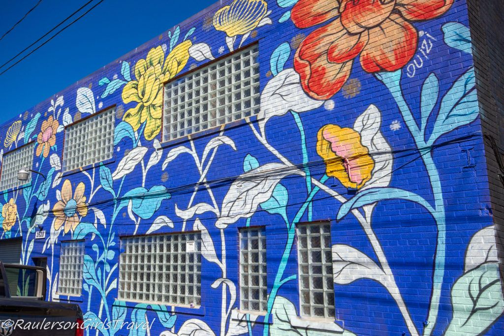 2015 Murals in the Market - flowers