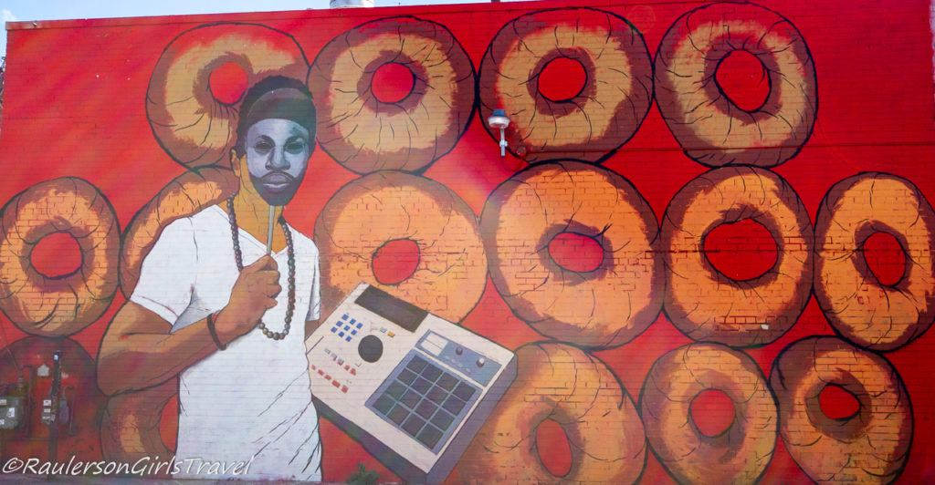 2016 Murals in the Market - Donuts