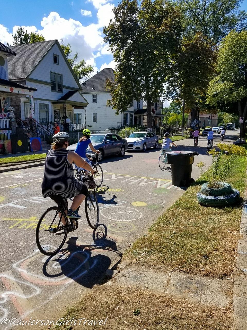 Bike Tours Through the Heidelberg Project
