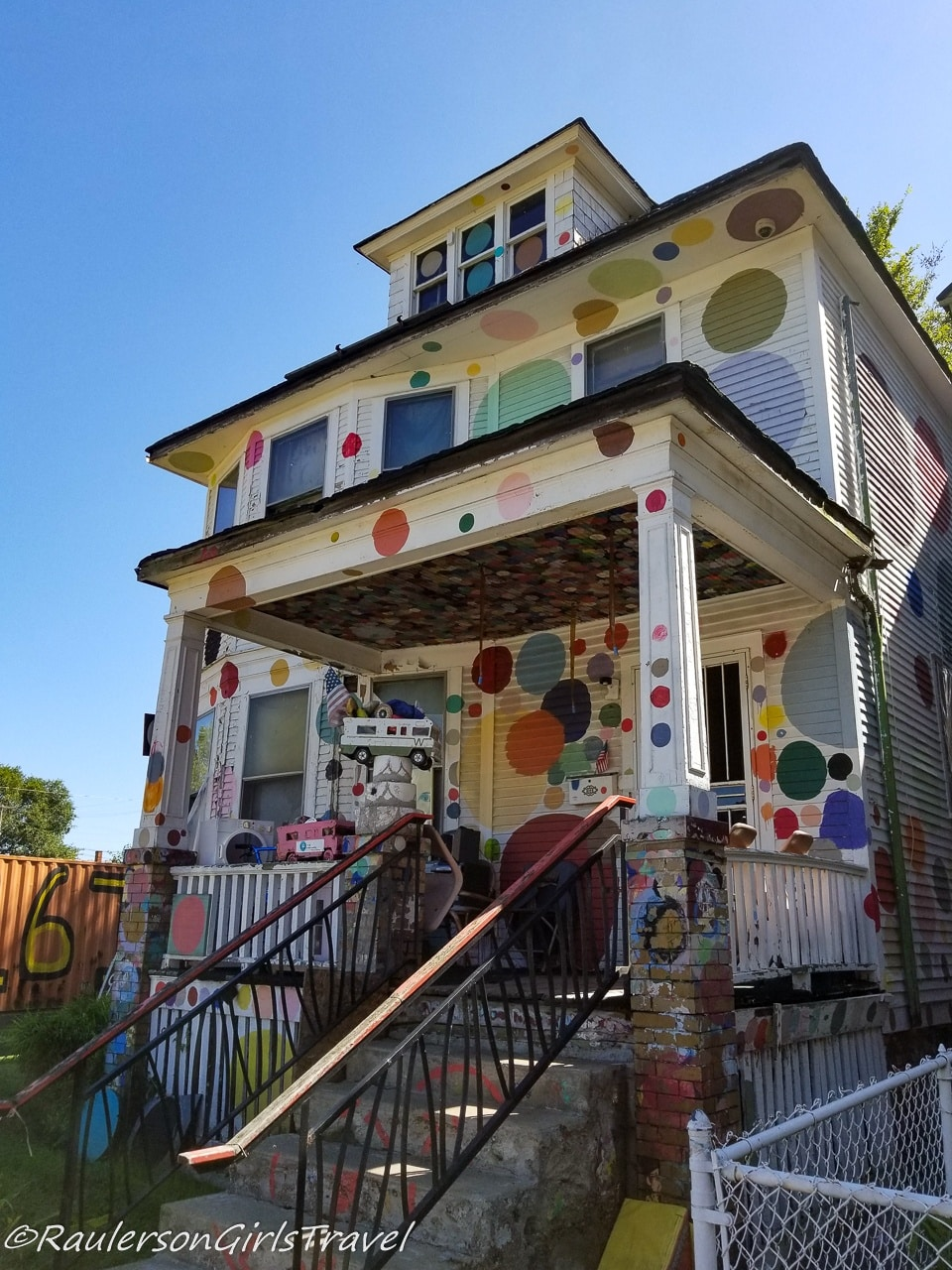 Dot House at the Heidelberg Project