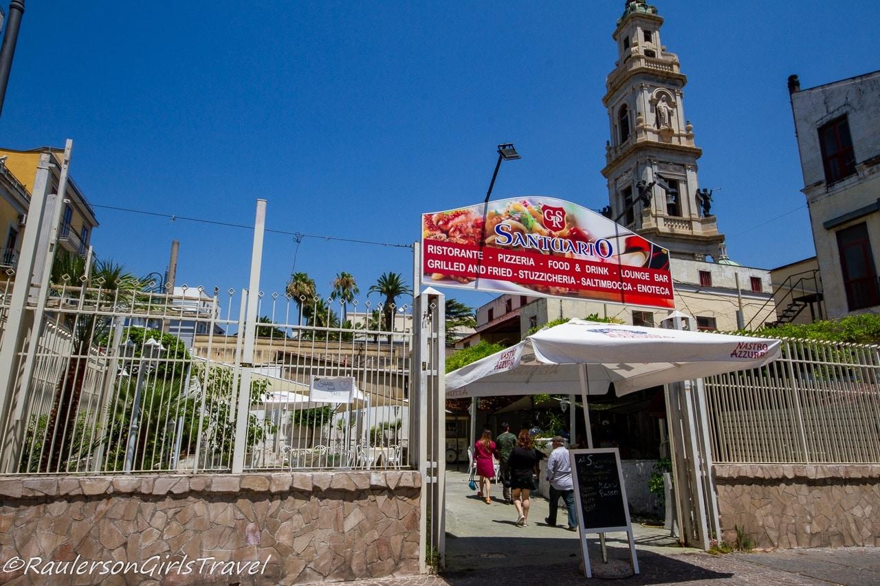 Il Santuario Restaurant in Pompei
