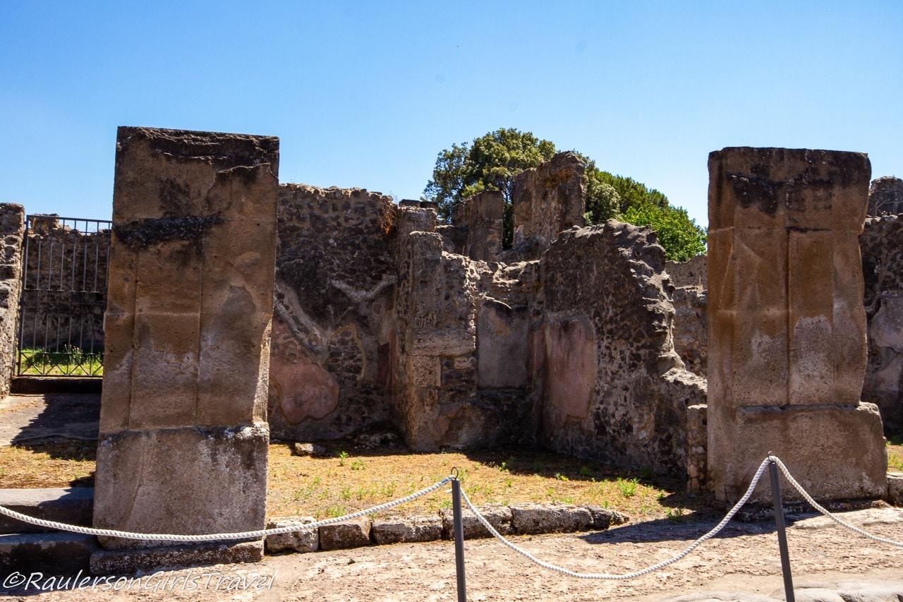 Pompeii Aftermath of Mount Vesuvius' Eruption