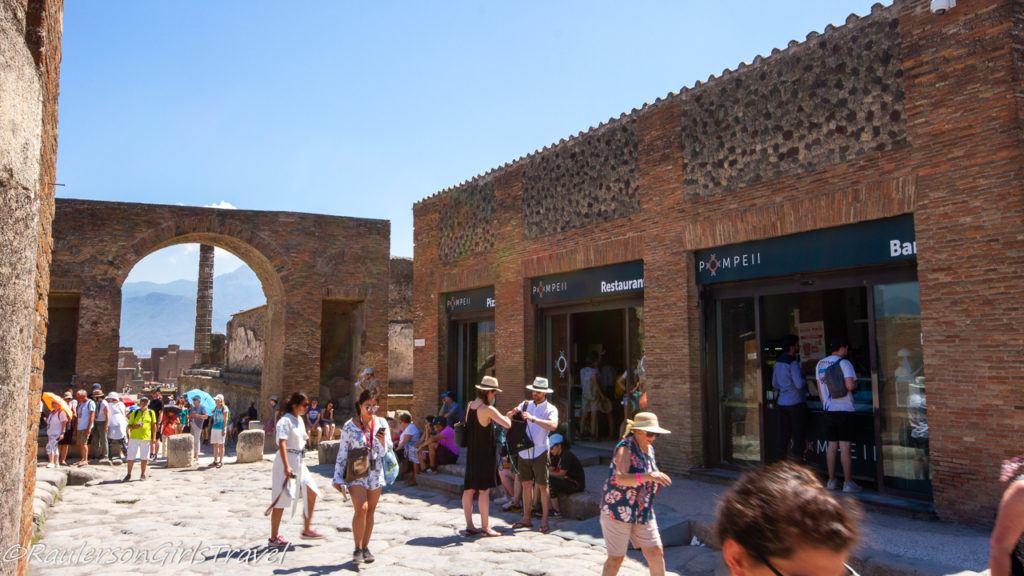 Restaurant in Pompeii