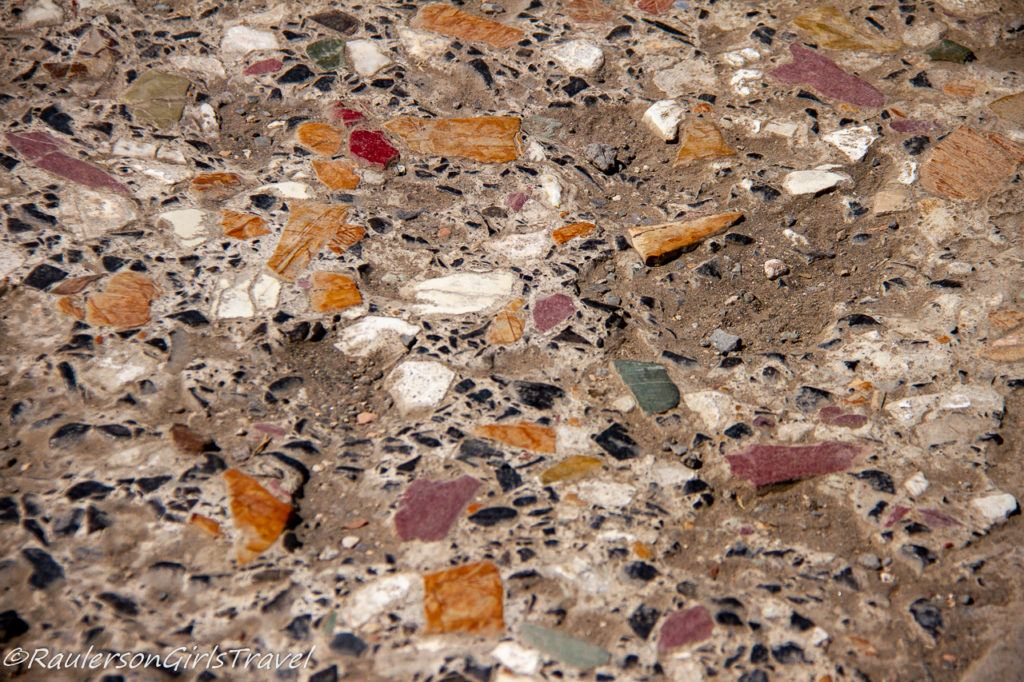 Mosaic Tiles in Pompeii