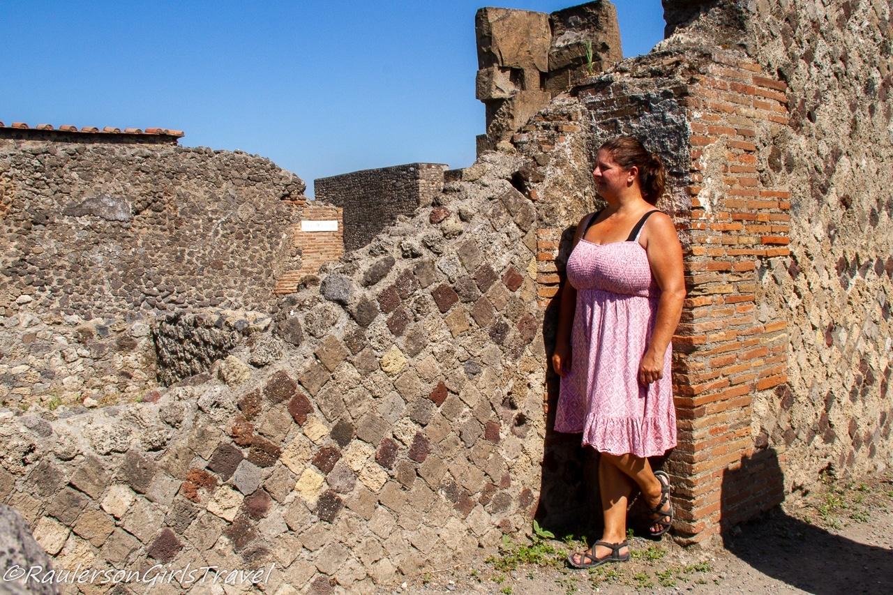 Heather in Pompeii