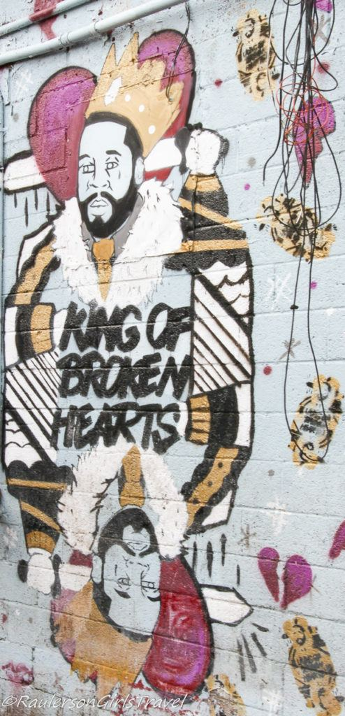 King of Broken Hearts - Detroit Street Art