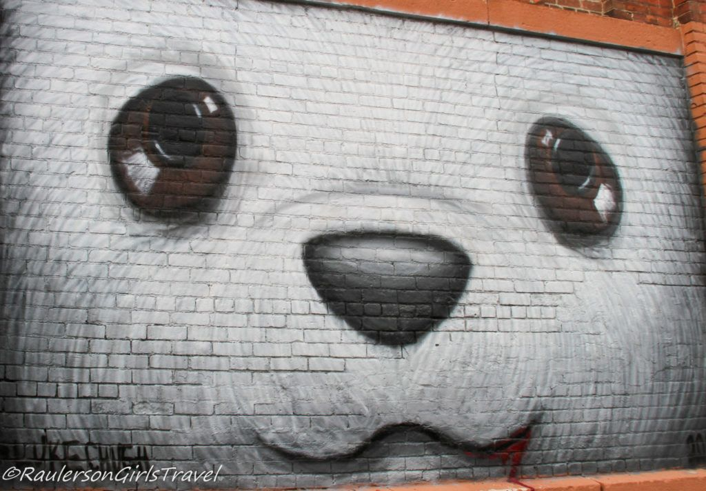 2018 Murals in the Market - bear