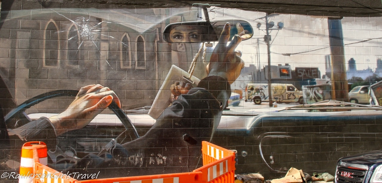 2017 Murals in the Market - Rear View Mirror