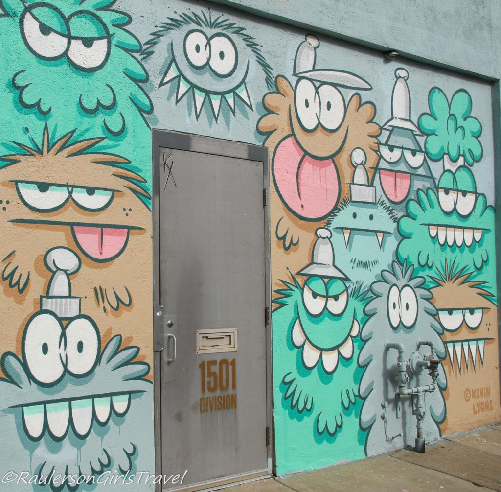 2019 Murals in the Market - funny characters