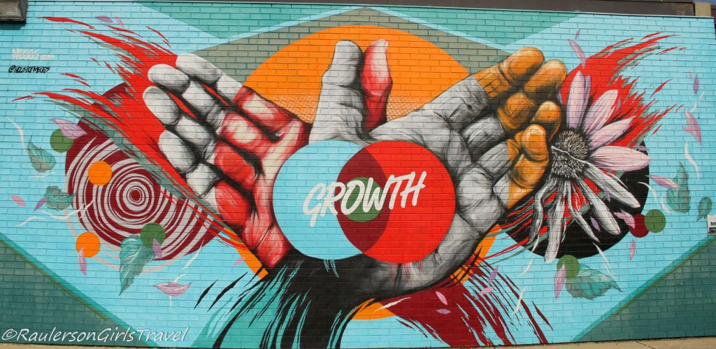 Growth - Detroit Street Art in Eastern Market