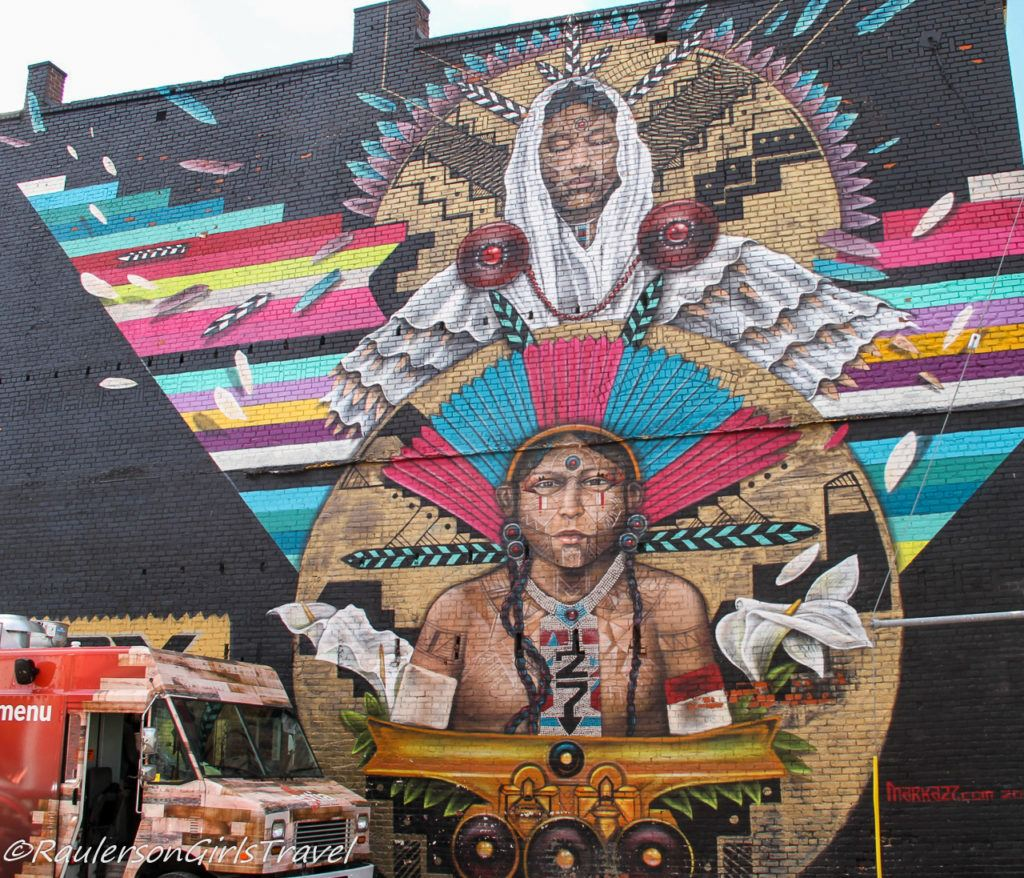 2016 Murals in the Market - Native Americans