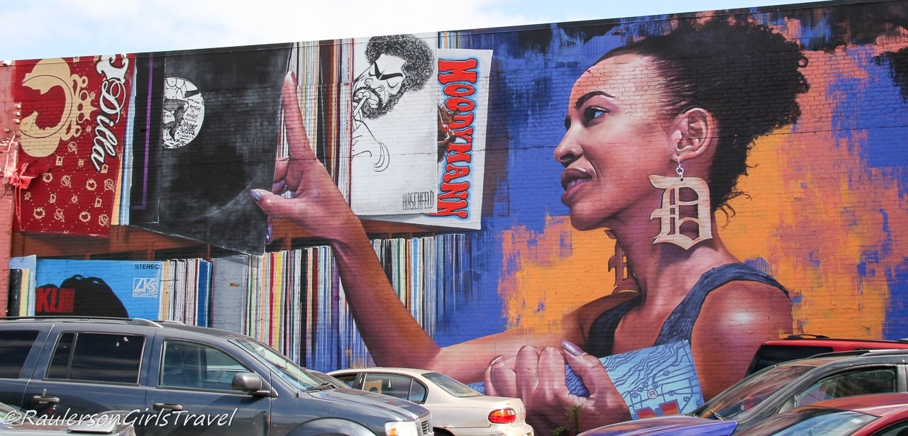 2018 Murals in the Market - Woman with the D Earrings