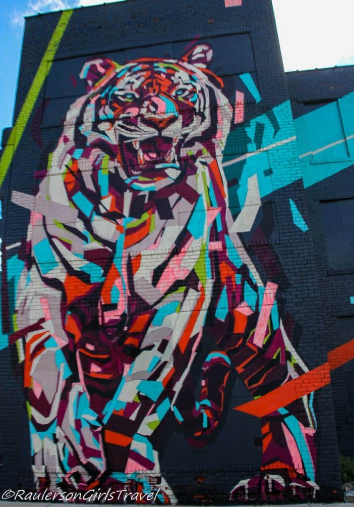 2017 Murals in the Market - tiger