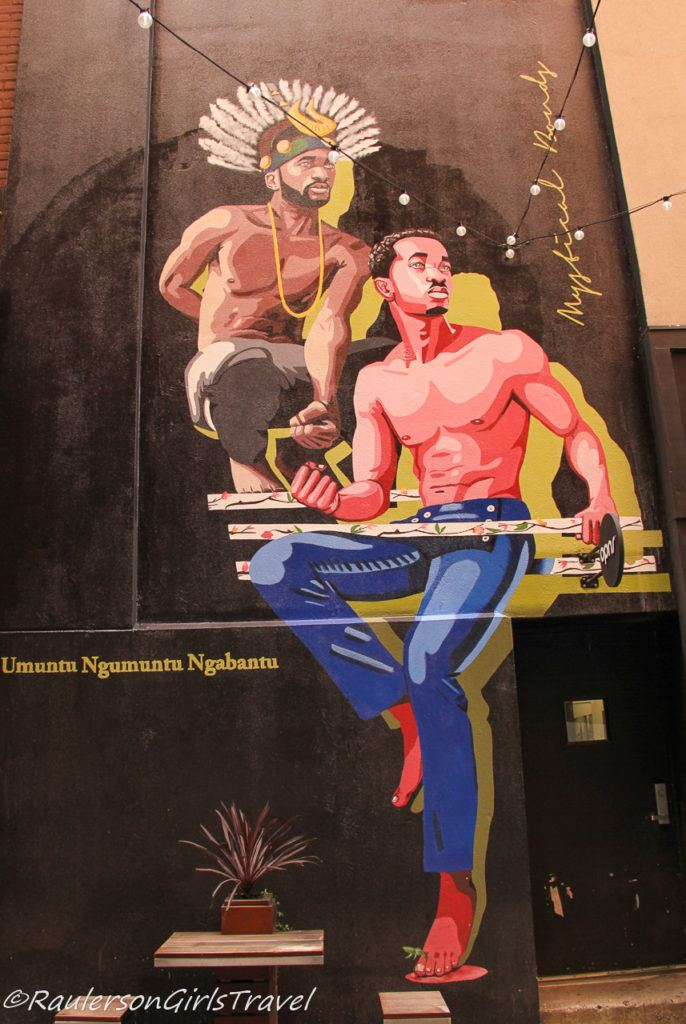 Detroit Street Art in the Belt - African American Men