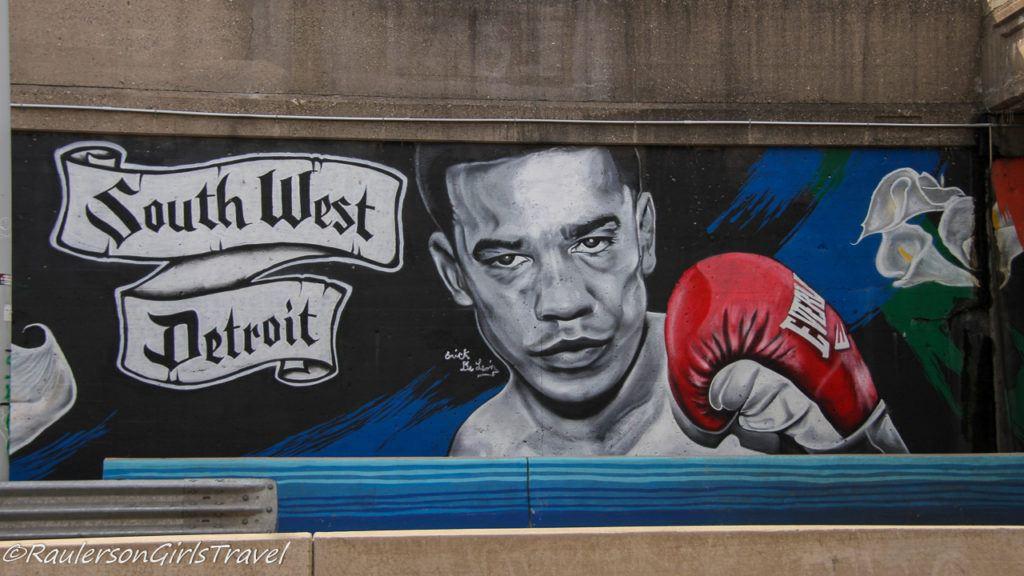 Bienvenidos a Southwest - Detroit Street Art