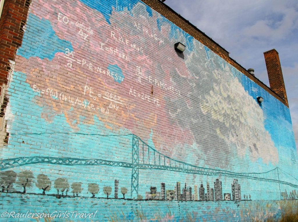 The Water Cycle - Detroit Street Art