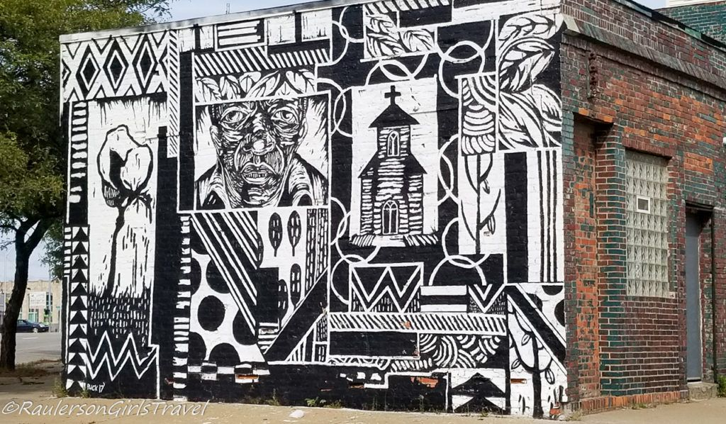 2017 Murals in the Market - Black and White
