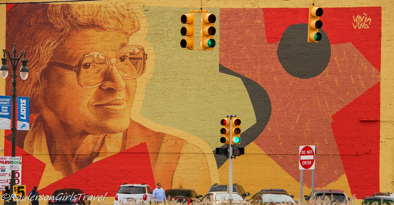 2019 Murals in the Market - Rosa Parks