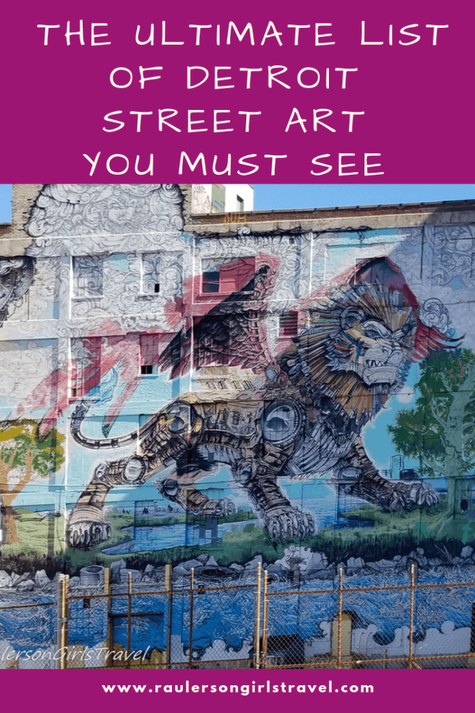 Detroit Street Art Pinterest Pin