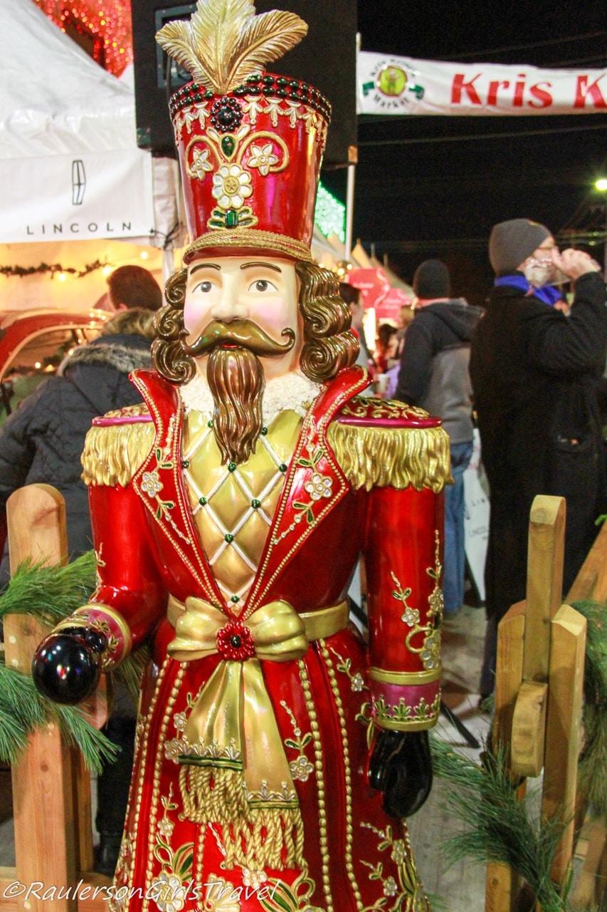 Toy Soldier guarding Kris Kringle Market