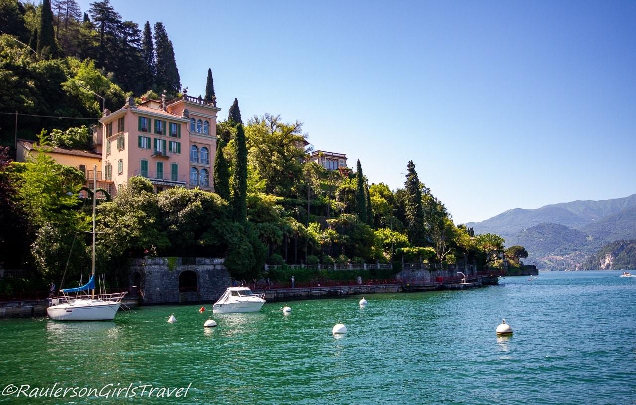 Houses in Varenna in Lake Como