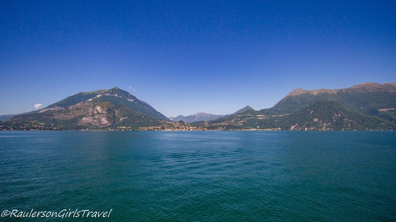 View of Menaggio from Varenna at Lake Como