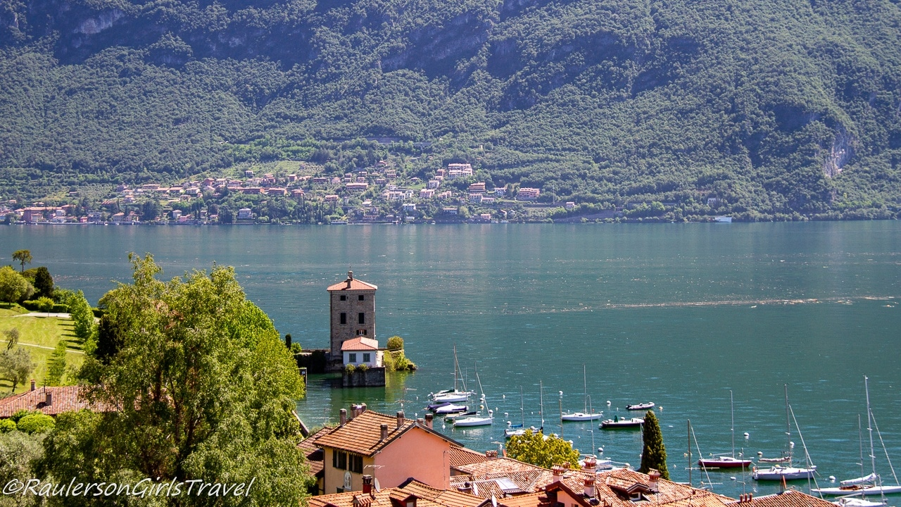 View of Lake Como in Bellagio