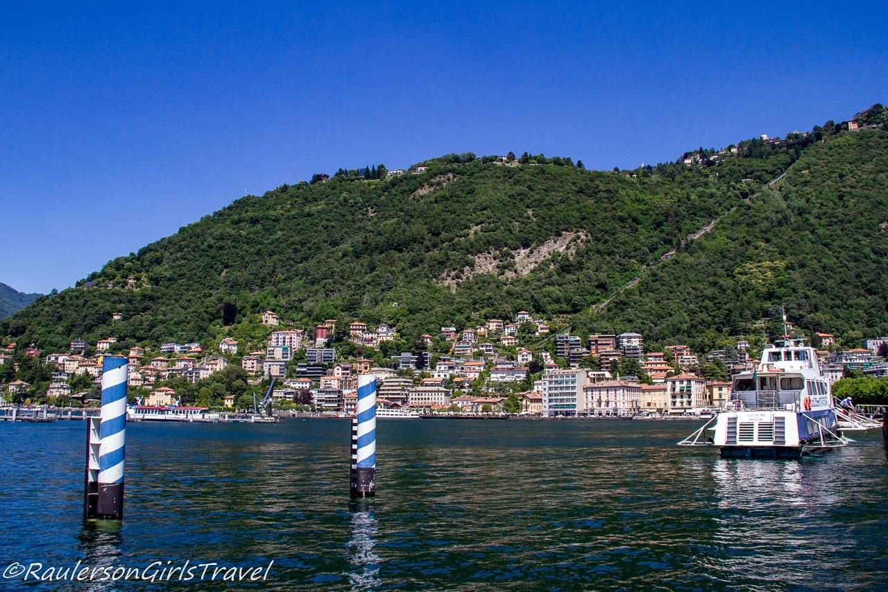 Como-Brunate Funicular and Lake Como