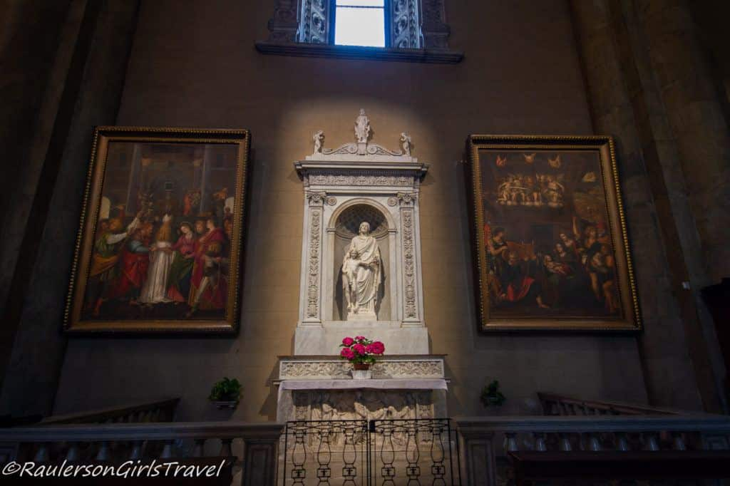 Side Altar in Cathedral of Como