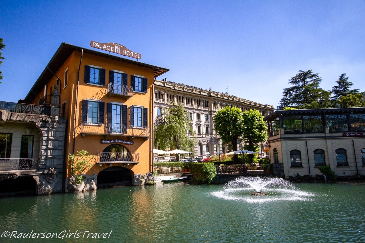 Fountain and Pond in Como, Italy