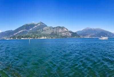 Panoramic View of Lake Como, Italy