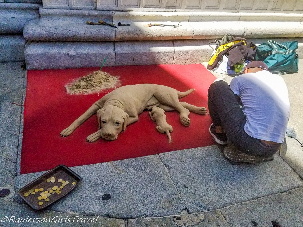 Sand Art in Como, Italy - things to do in Lake Como