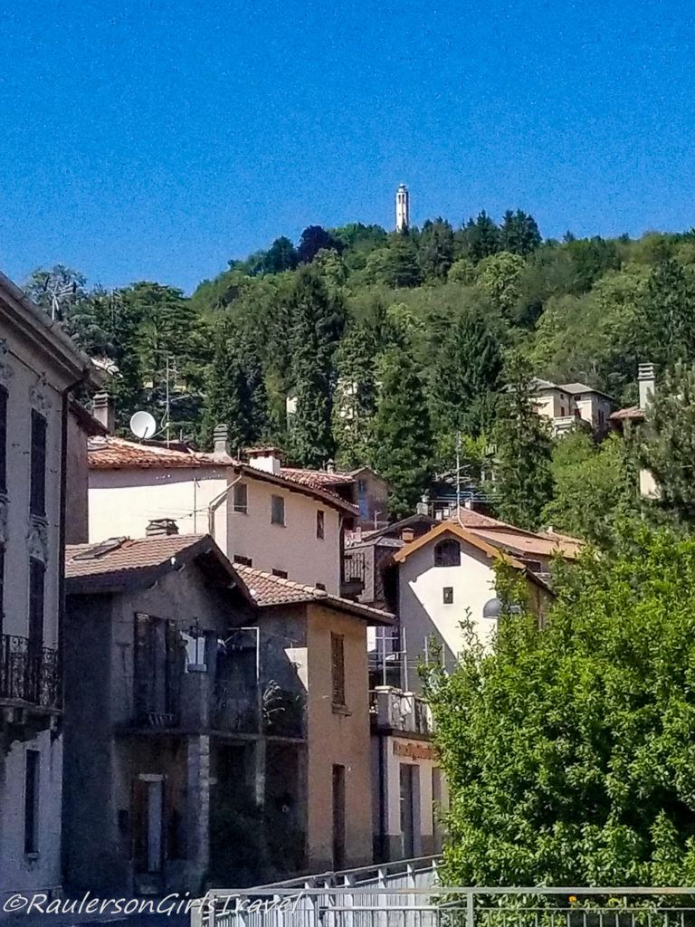 View in Brunate, Italy