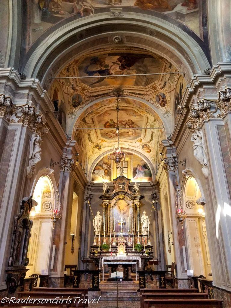 Altar in Chiesa di Sant' Andrea Apostolo