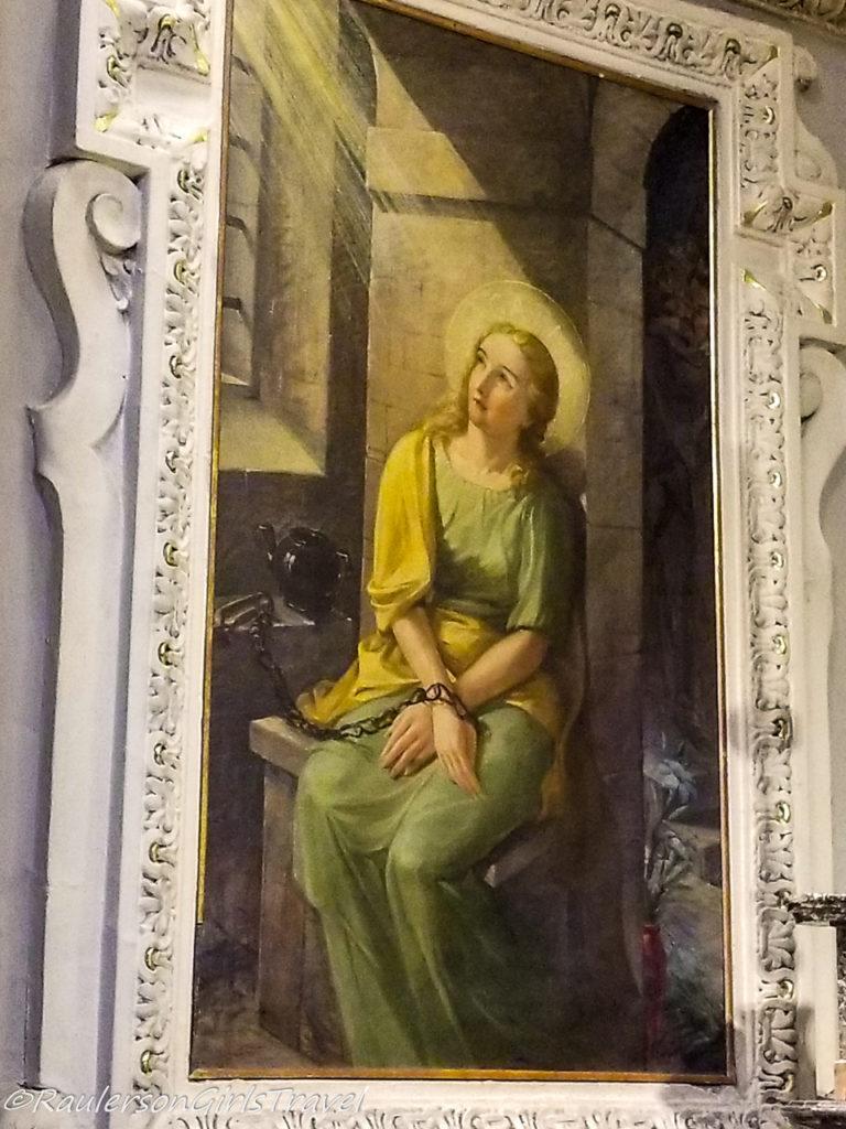 Painting in Chiesa di Sant' Andrea Apostolo