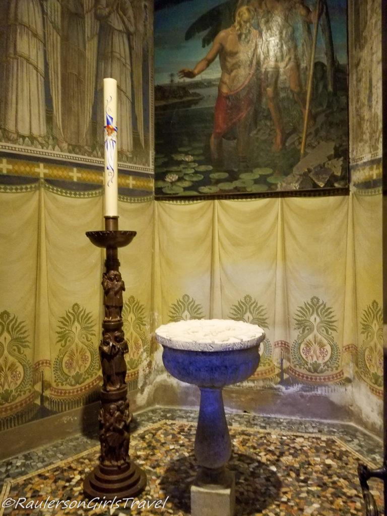 Baptismal in Chiesa di Sant' Andrea Apostolo